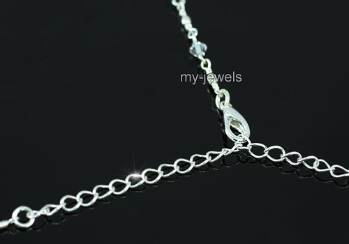 Bridal Party Vintage Style Crystal Necklace Set S1185